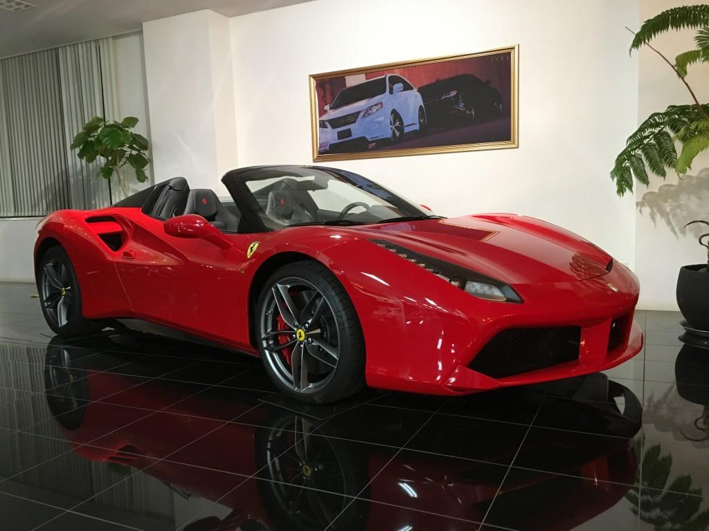 ferrari、488、488spider、フェラーリ