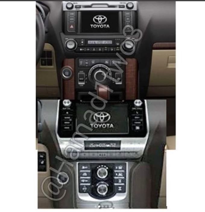 2018-Toyota-Land-Cruiser-Prado-facelift-center-console-leaked-1